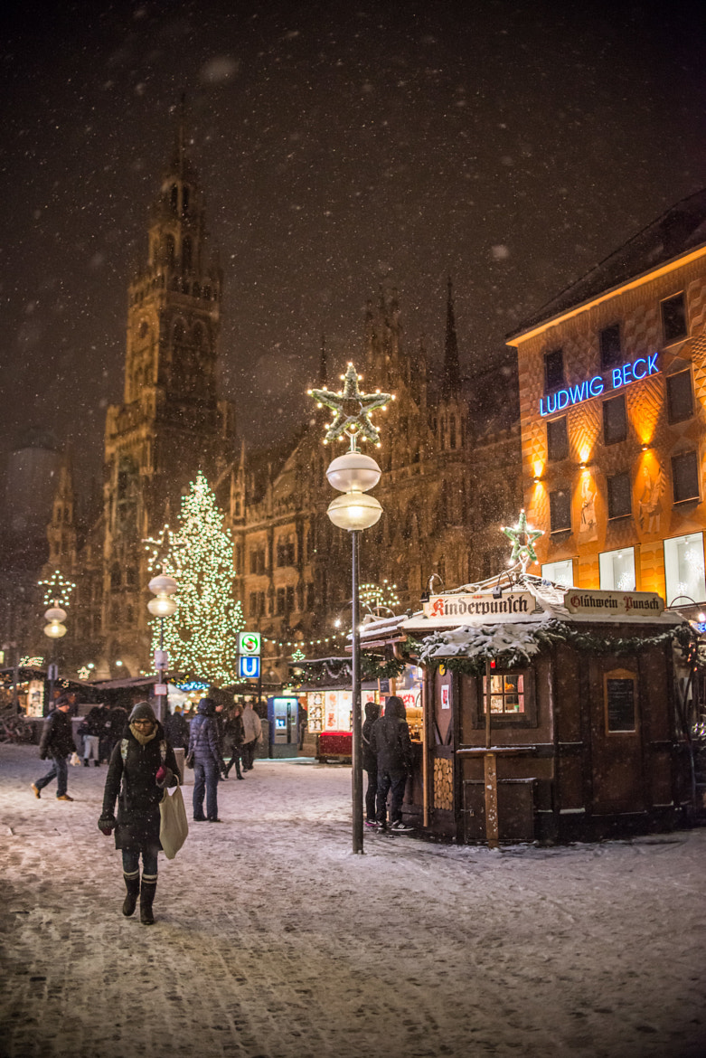 Photograph Winter time in Munich by Vaidas Mišeikis on 500px