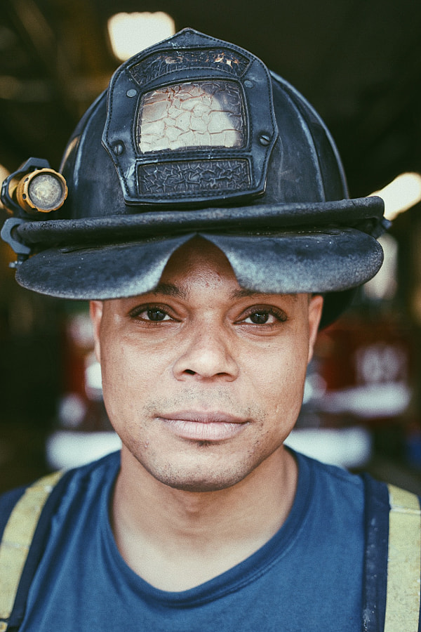 Englewood, Chicago Fire Fighter by Blake Pleasant on 500px.com