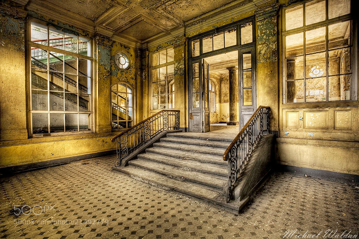 Photograph Entrance stairway to the past by Michael Waldau on 500px