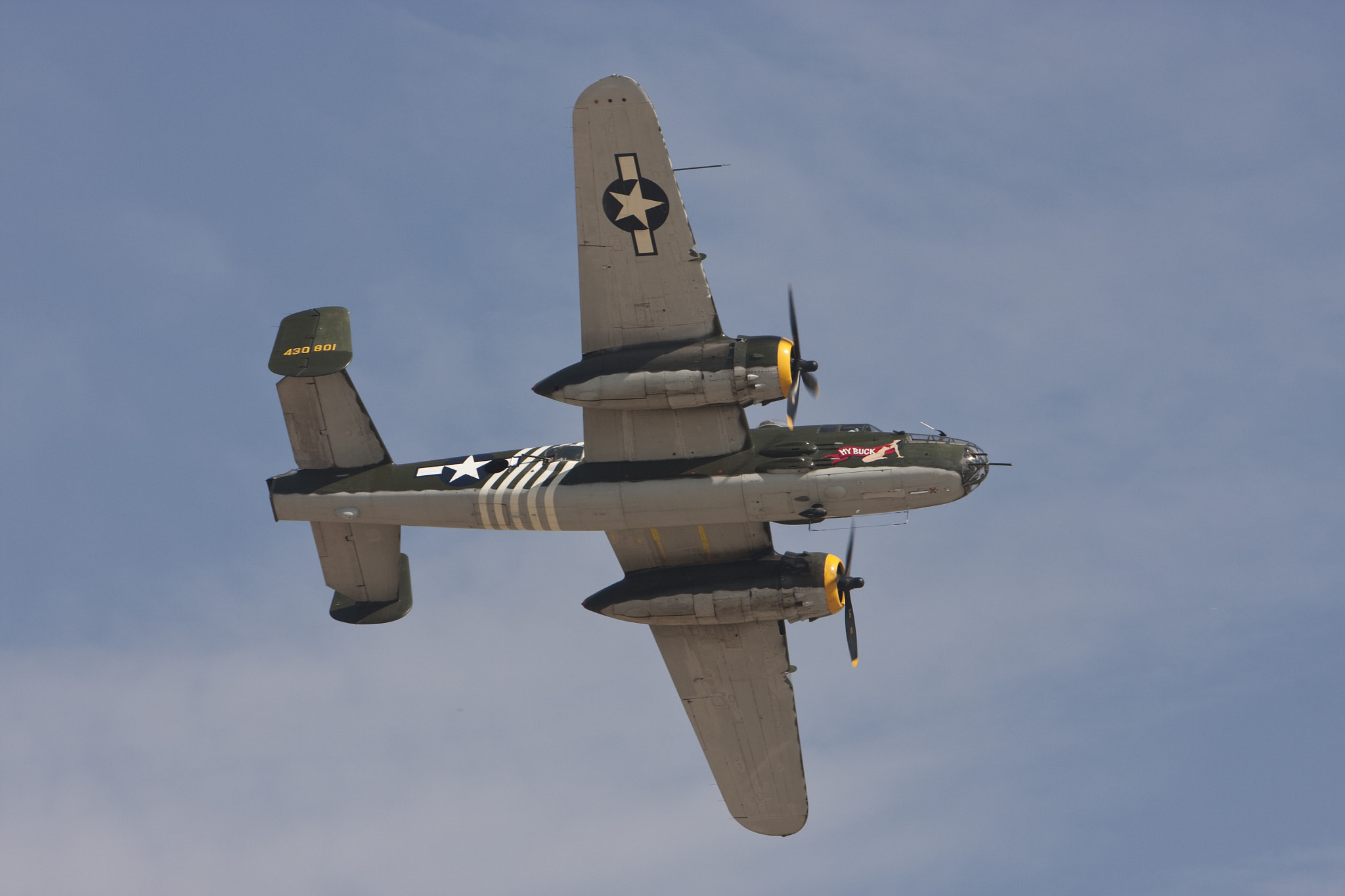 Photograph B 25J WWII Bomber by Mark Hendrickson on 500px