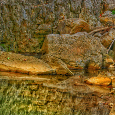 Rocks on Water's Edge