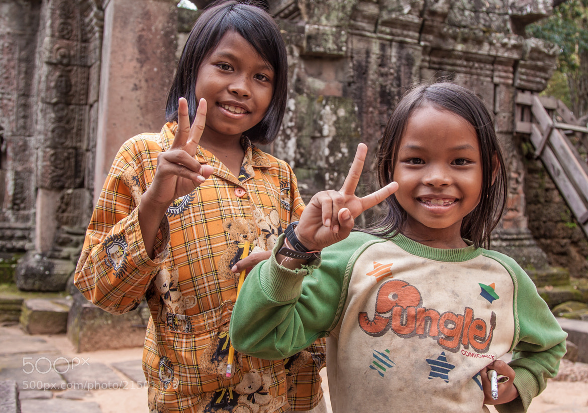 Photograph Cambodian smiles by Natasha  Belikova on 500px