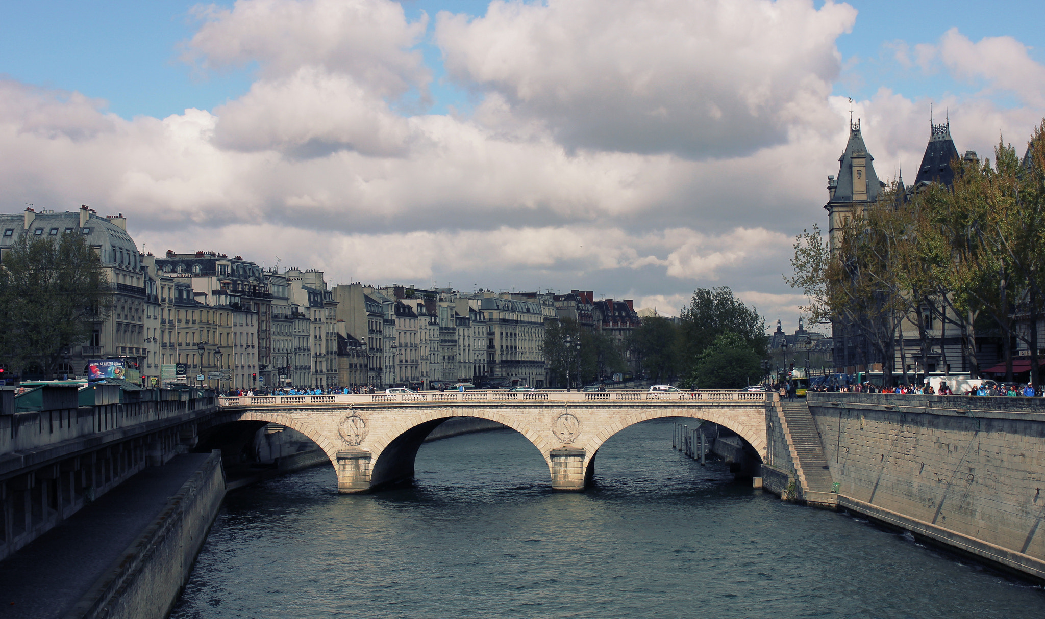 Photograph Bridge Over the Seine by Tyler Lavoie on 500px