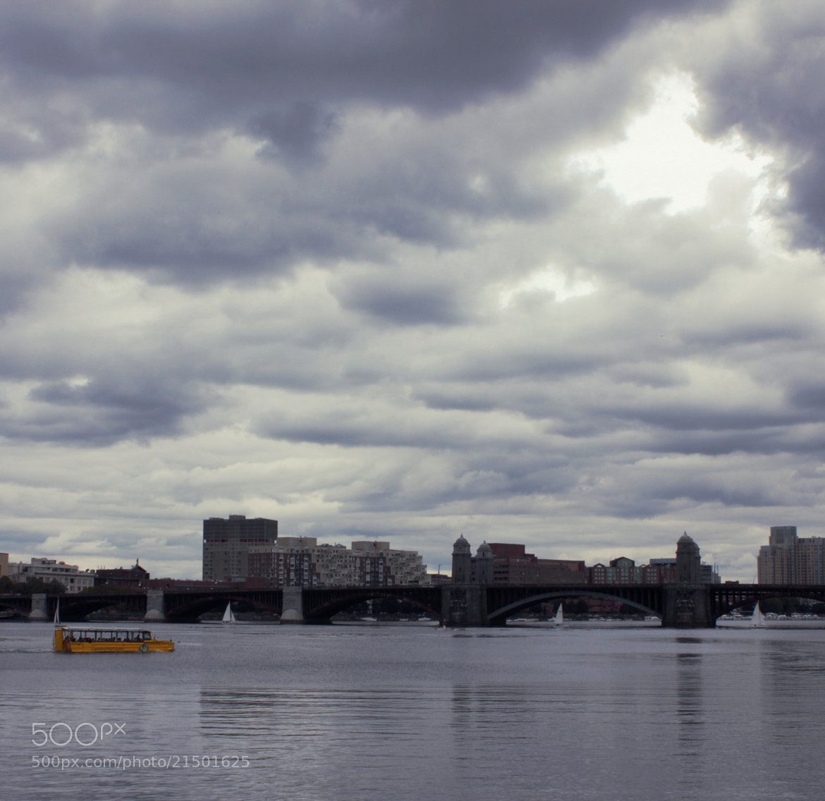 Photograph Yellow Boat by Tyler Lavoie on 500px