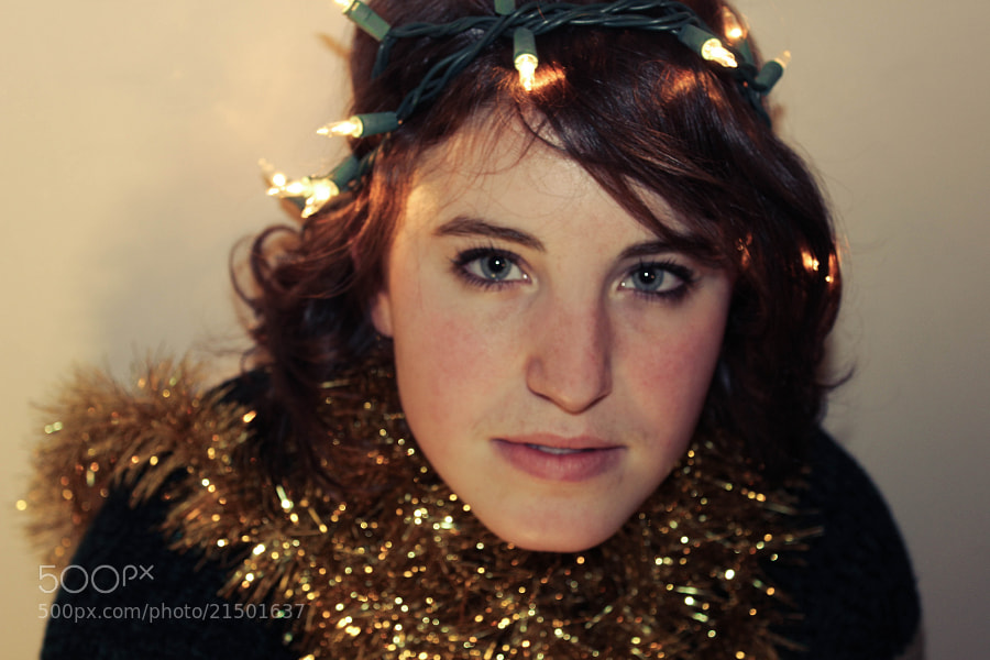Photograph Christmas Woman by Tyler Lavoie on 500px