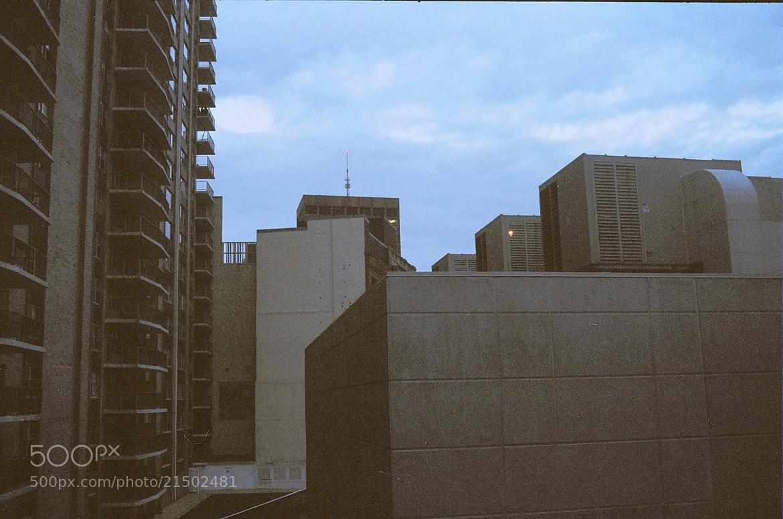 Photograph Film 4 (Brandt Buildingtops 2) by Tyler Lavoie on 500px