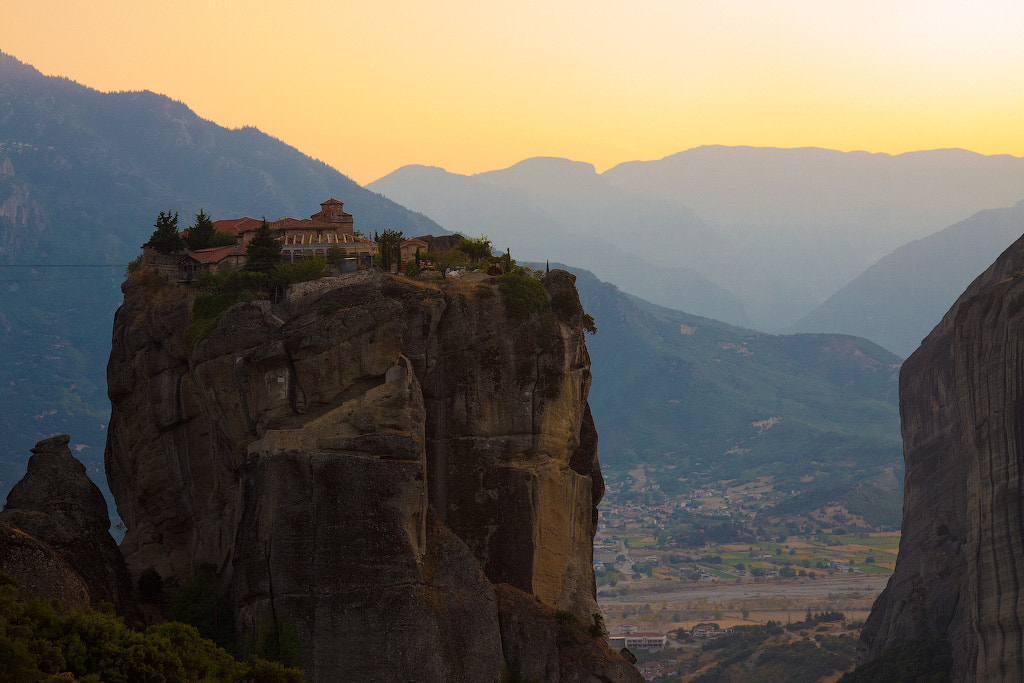 Photograph Meteora sunset by Fedor Kryukov on 500px