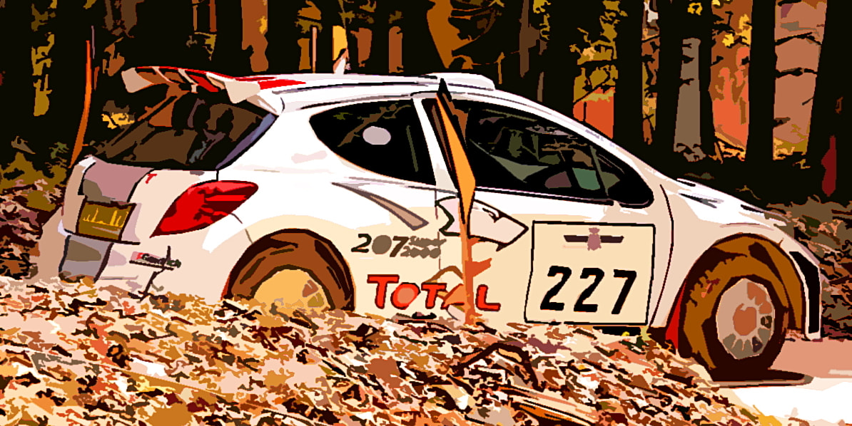 Photograph Rally car at Festival of Speed by Kol Tregaskes on 500px