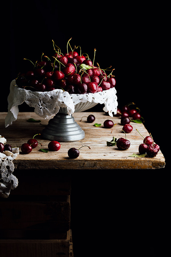 Cherries by Raquel Carmona Romero on 500px.com
