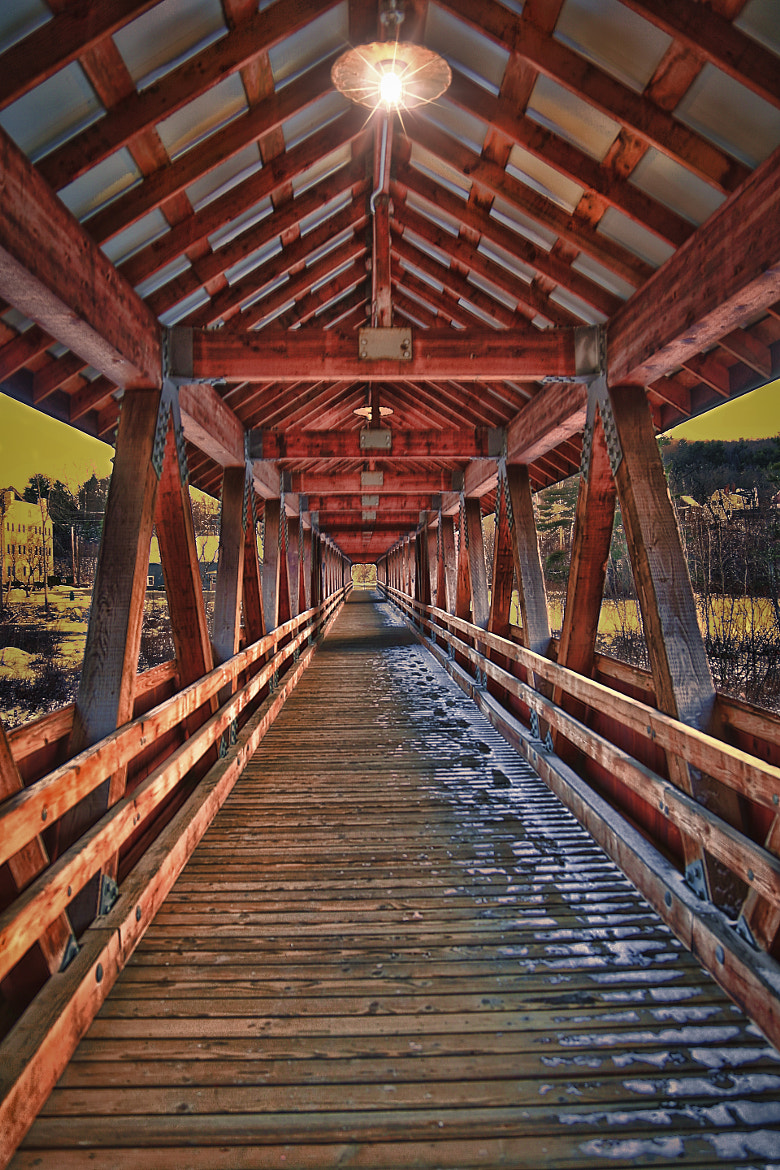 Photograph Covered Bridge by Robert Goulet on 500px
