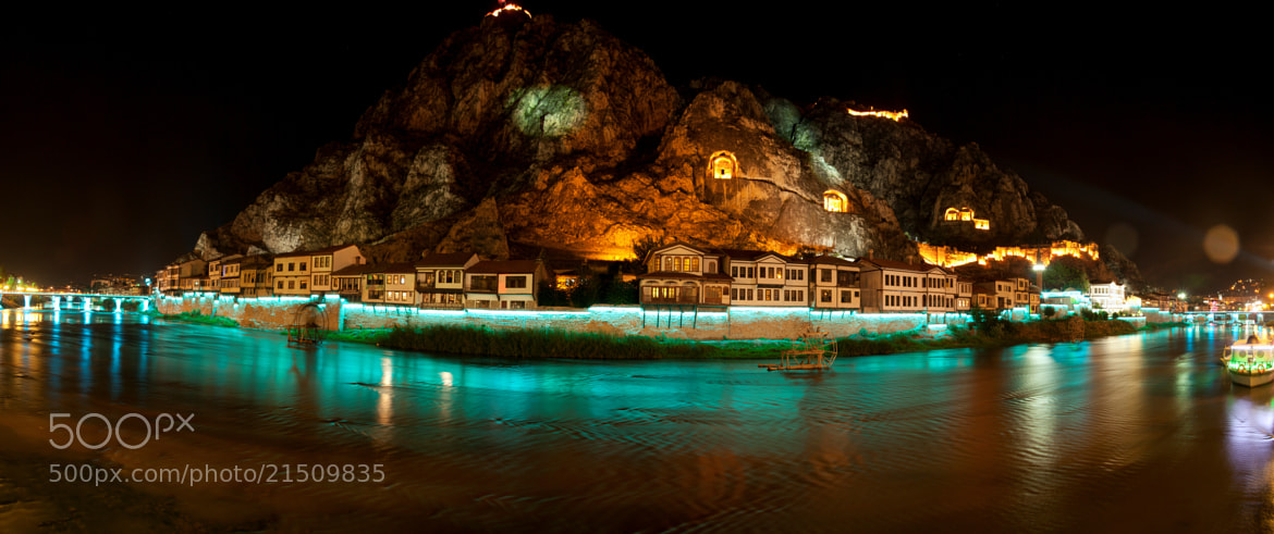 Photograph night in Amasya by erman karabaş on 500px