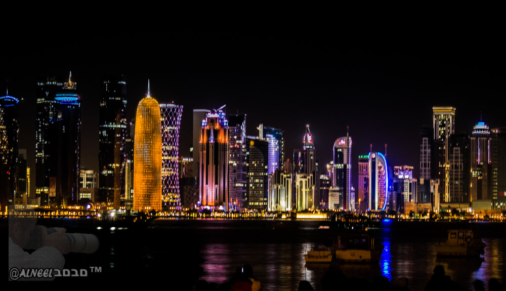 Photograph Doha @ Night by Alneel םבםב™ on 500px