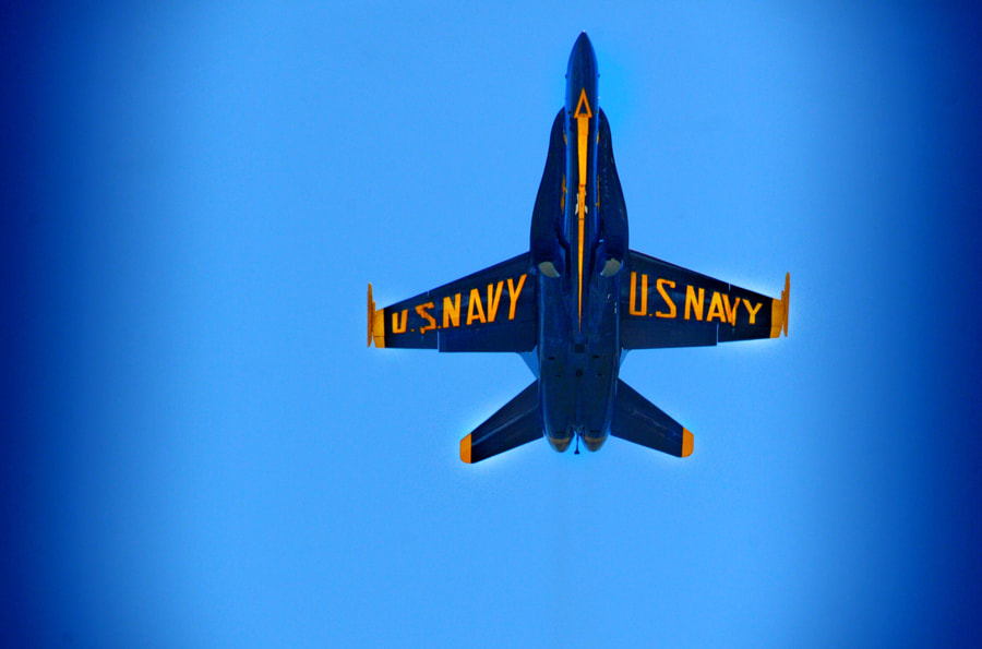 Blue Angels Jet