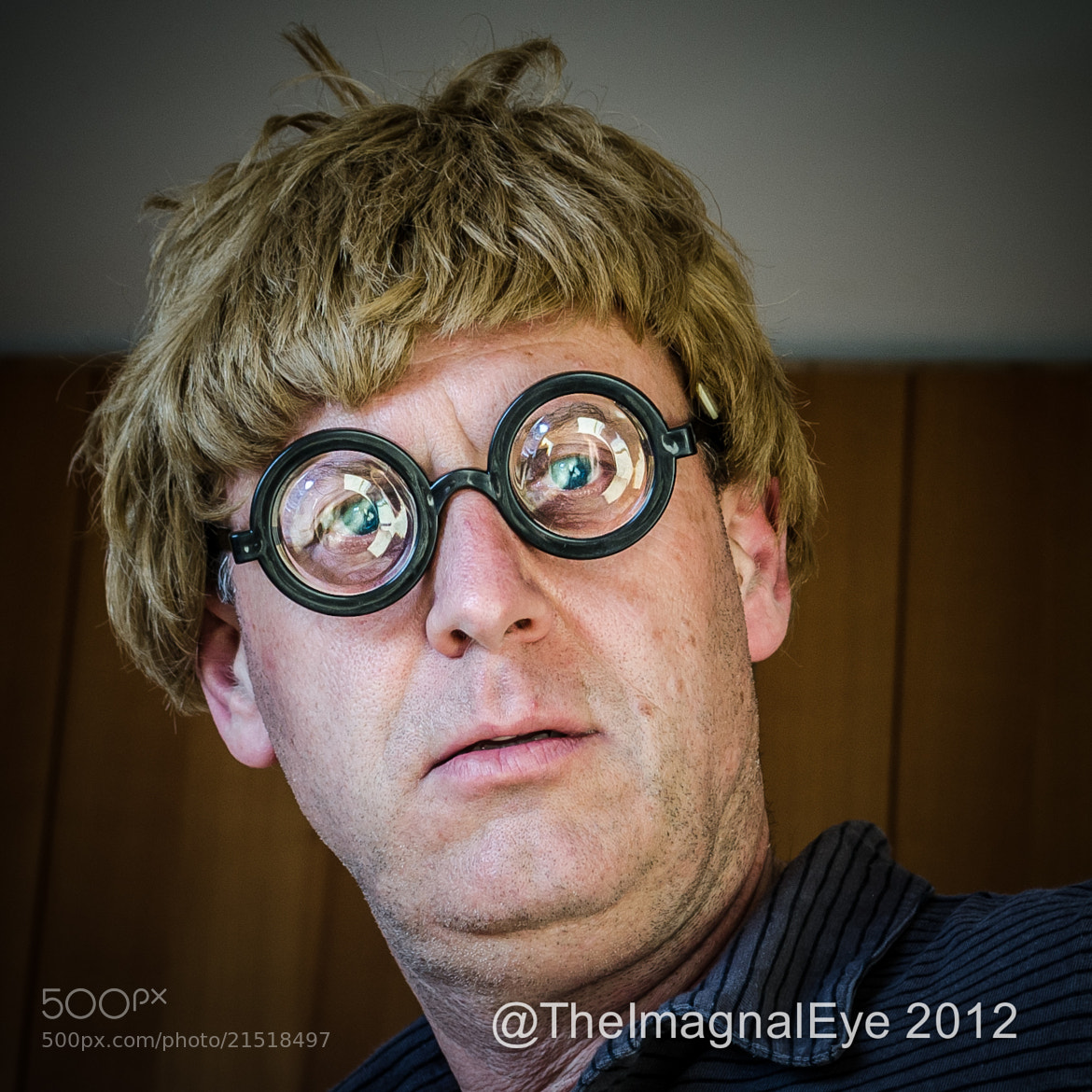 Photograph Portrait of the Artist - Berthold Anfanger in 2012 by Pip Eastop on 500px
