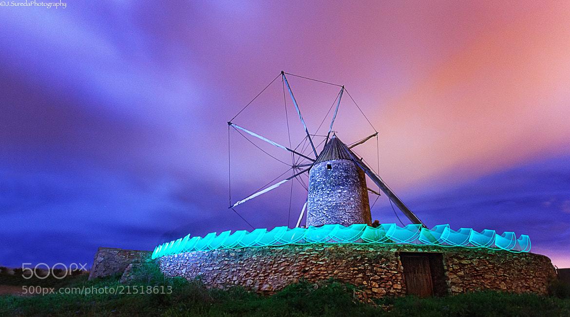 Photograph Mill at night by Joel Sureda on 500px