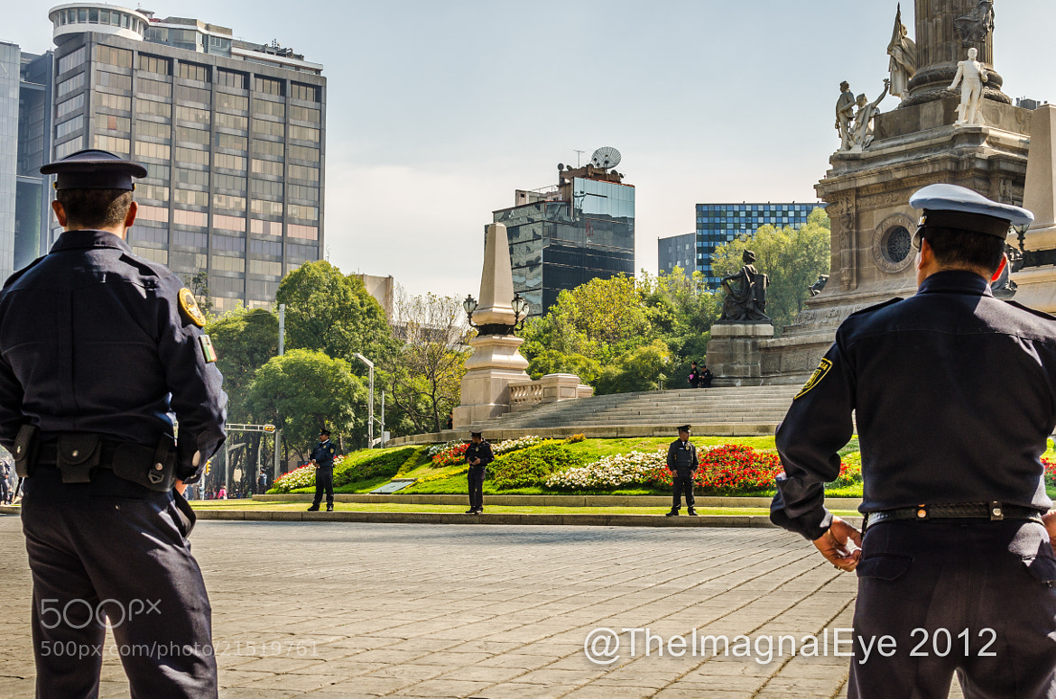 Photograph Police line the streets in Mexico City. by Pip Eastop on 500px