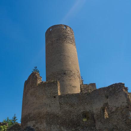 Burgruine Kollmitz Burgfried