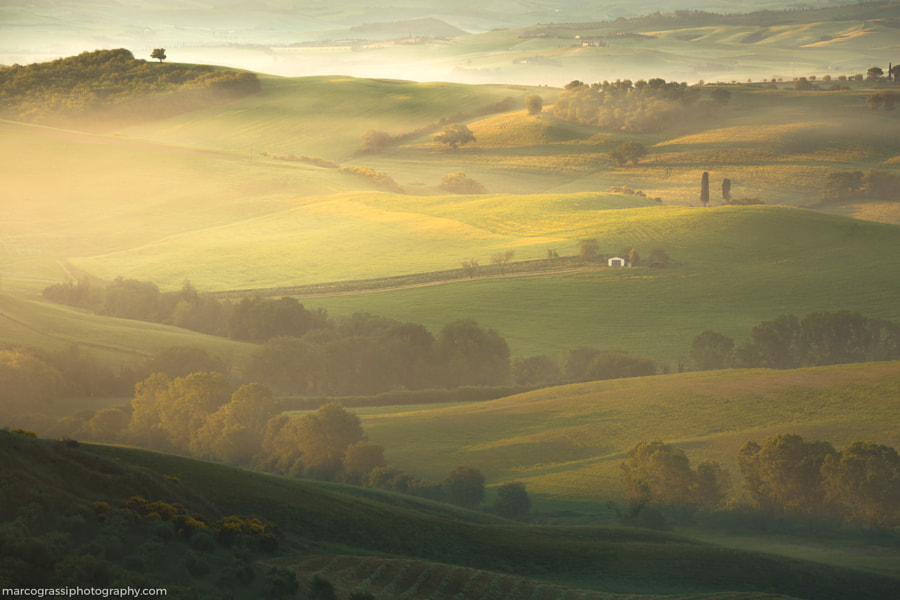 Tuscany mornings by Marco Grassi on 500px.com