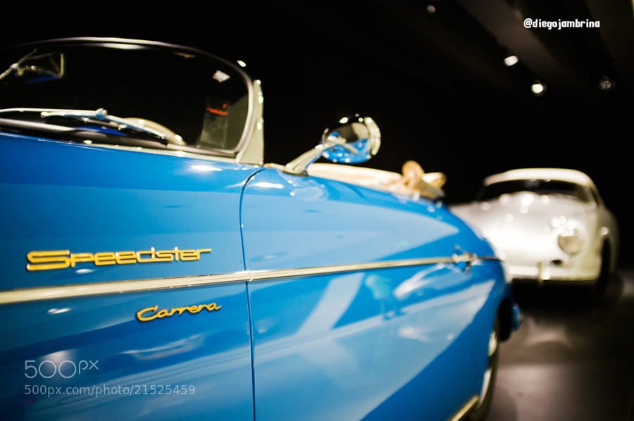 Porsche Speedster Carrera by Diego Jambrina (Elhombredemackintosh)) on 500px.com