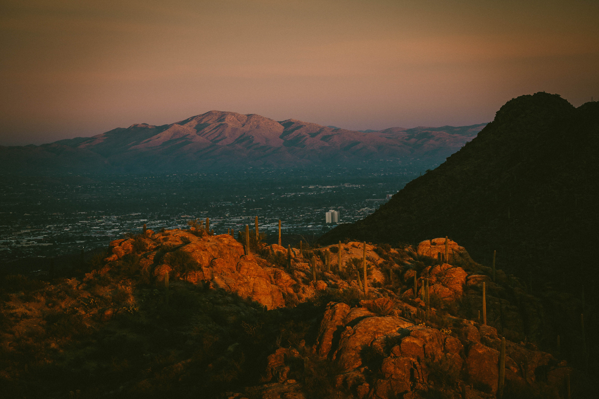 Photograph Tucson from the West by Dave Dunmyre on 500px