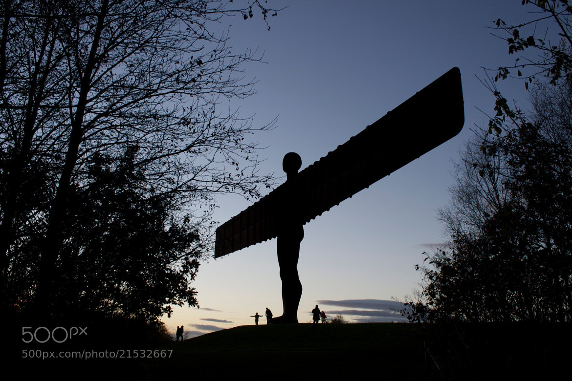 Photograph Angel of the North, gateshead by Gail Graham on 500px
