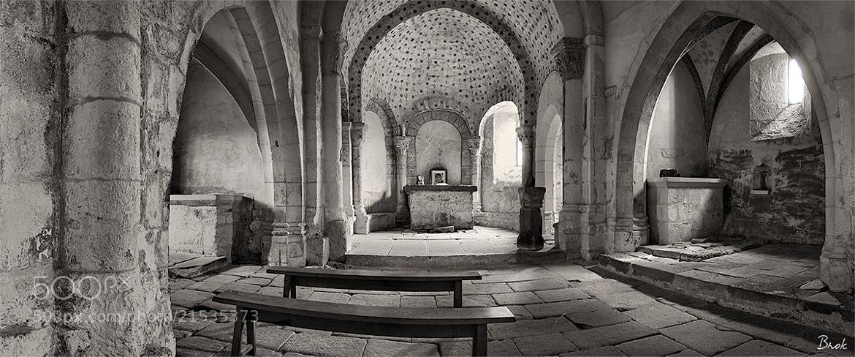 Photograph Nef chapelle Saint Antoine près de Chastel-sur-Murat by BrÖk  on 500px