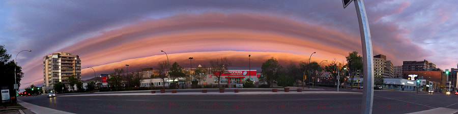 Early Morning Shelf Cloud by Jared Mysko on 500px.com