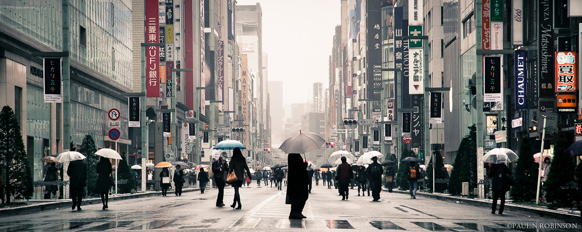 Photograph Tokyo by Paul N. Robinson on 500px