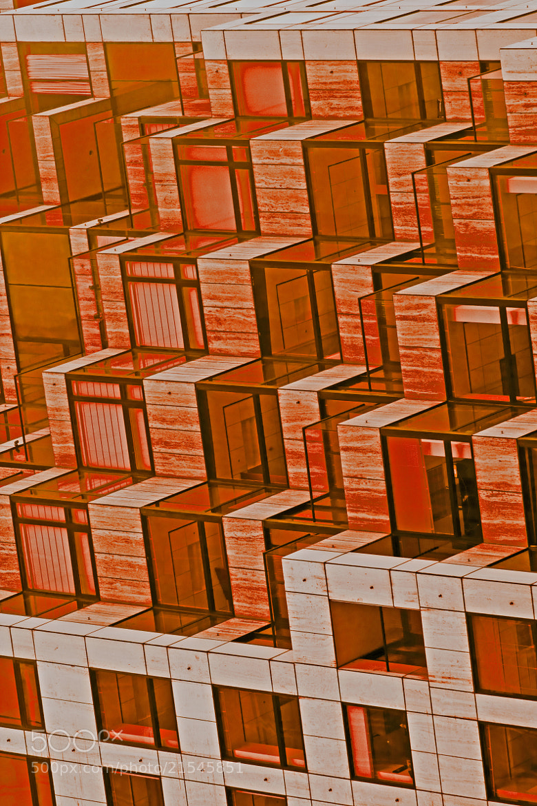 Photograph Architecture Abstract in Red by Mark Hendrickson on 500px
