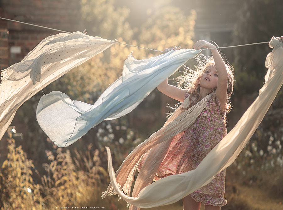 ..let it go with the wind.. by Elena Shumilova on 500px.com