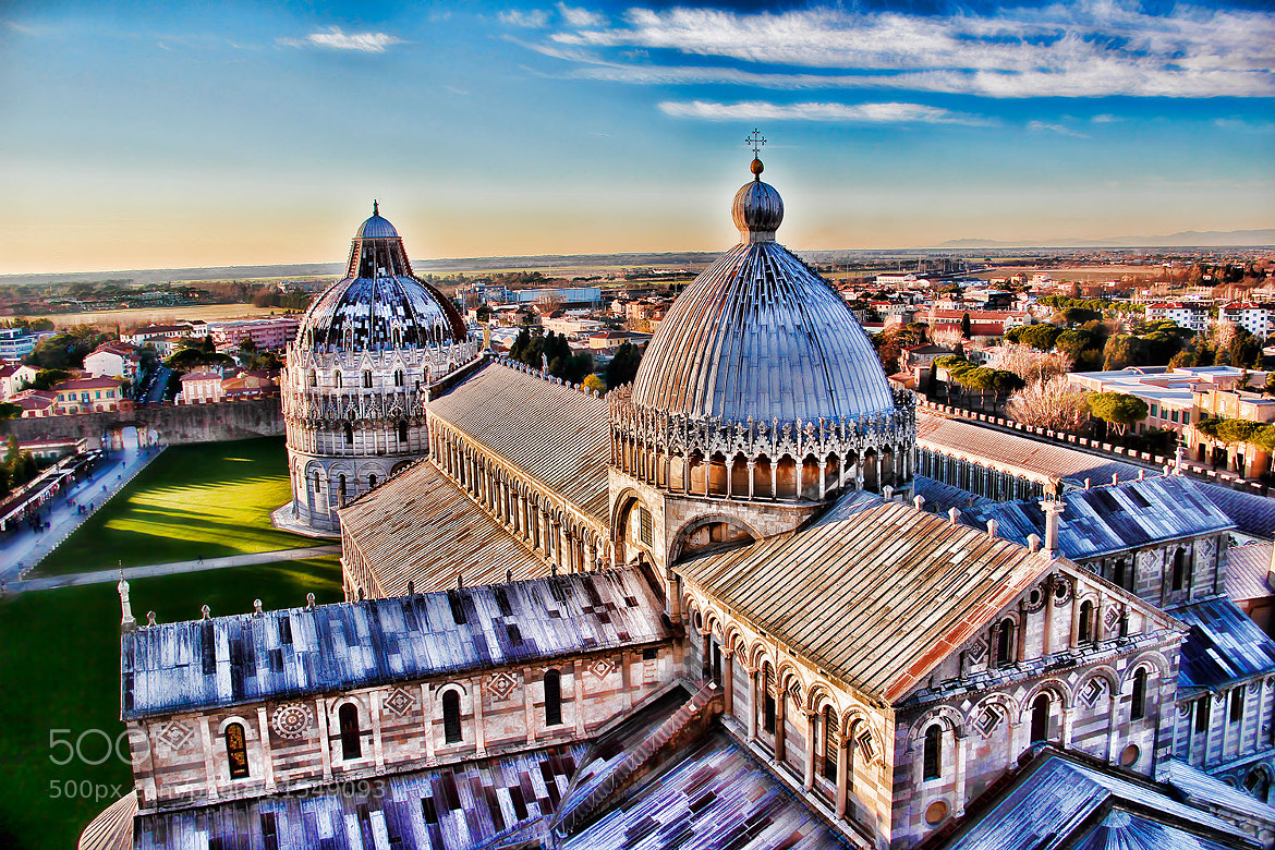 Photograph View from top - Tower of Pisa  by Paulo Eduardo Canedo Nabas on 500px