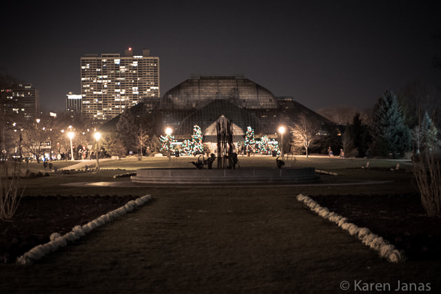 Photograph Lincoln Park Conservatory - 12/22/12 by Karen Janas on 500px