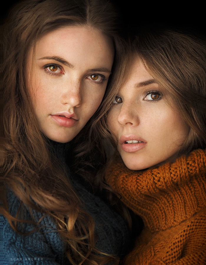 Anna and Nadya by Sean Archer on 500px.com