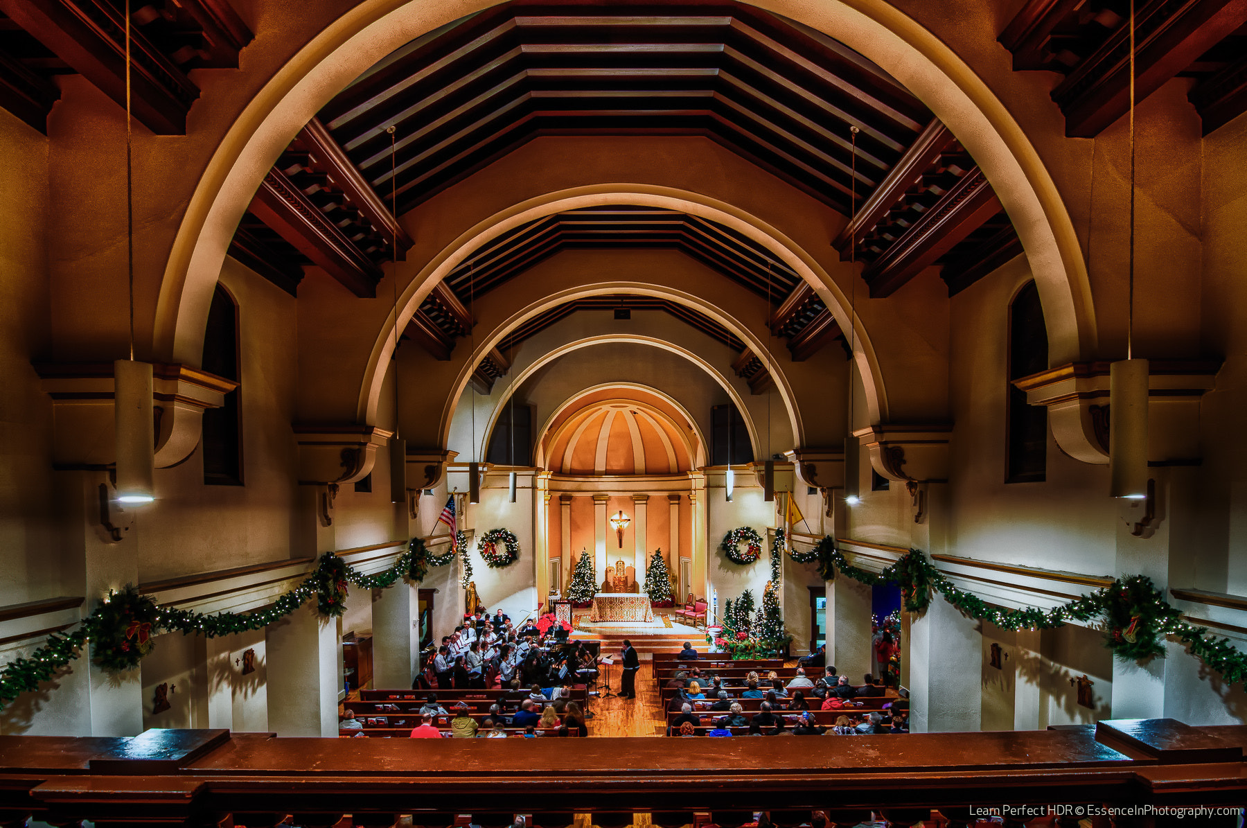 Photograph Christmas Midnight Mass - St. Michael's Church, Livermore, CA by  Photo on 500px