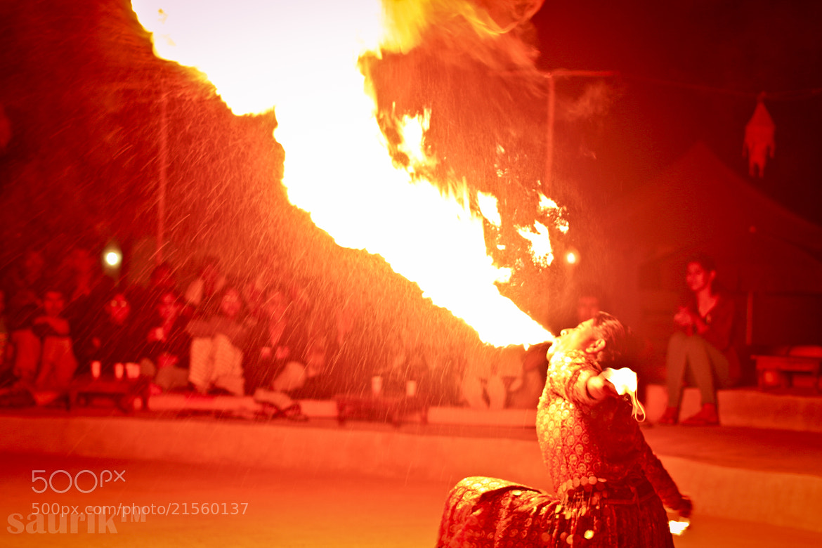 Photograph Fire play by saurik s shah on 500px