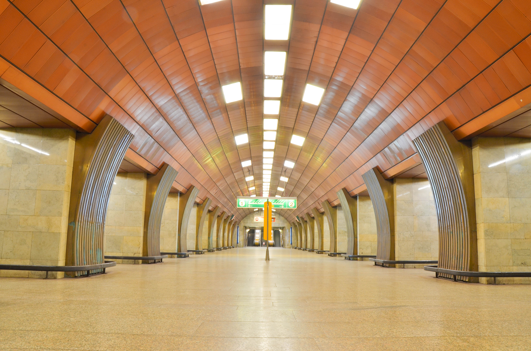 Photograph Metro station in prag by Mohamed Raouf on 500px
