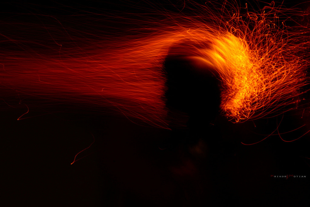 Photograph Fire Painting by Krikor MOTIAN on 500px