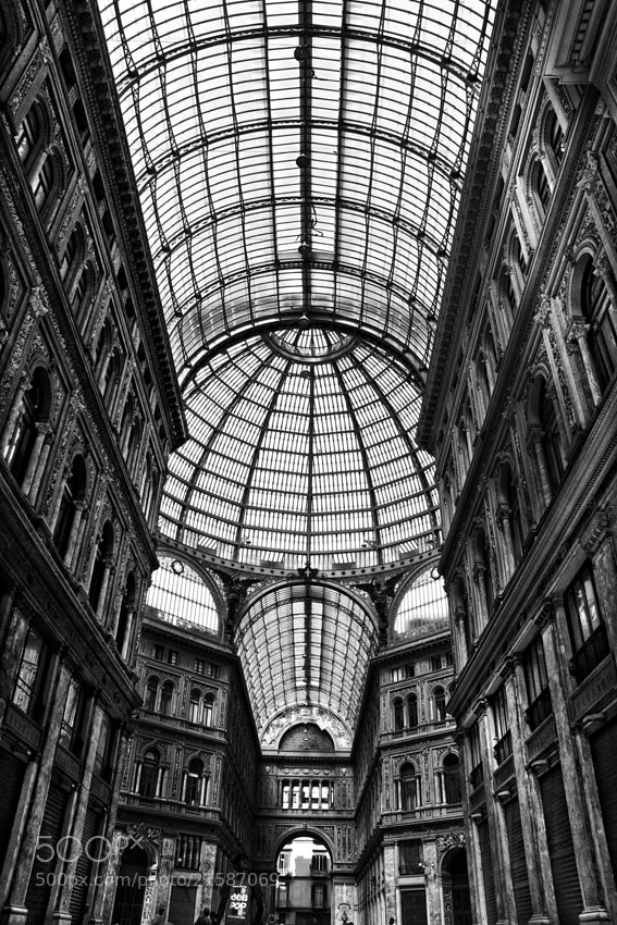 Photograph Galleria Umberto I by mario pignotti on 500px