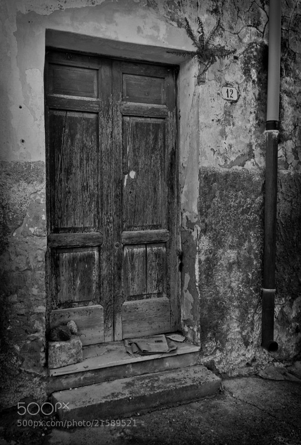 Photograph Old door by Tony  Carriero on 500px