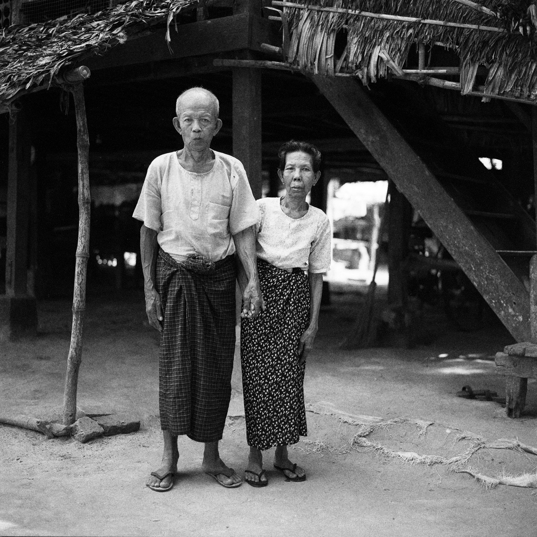 Photograph old couple, unnamed village by  momofuku on 500px