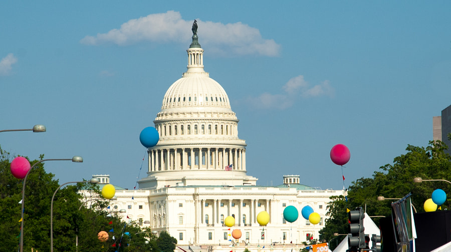 Capital Pride Ballons by Richard Binhammer on 500px.com
