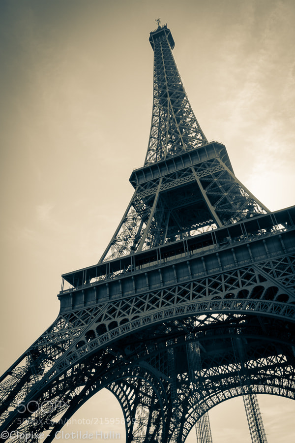 Photograph Eiffel Tower by  Clotilde Hulin on 500px