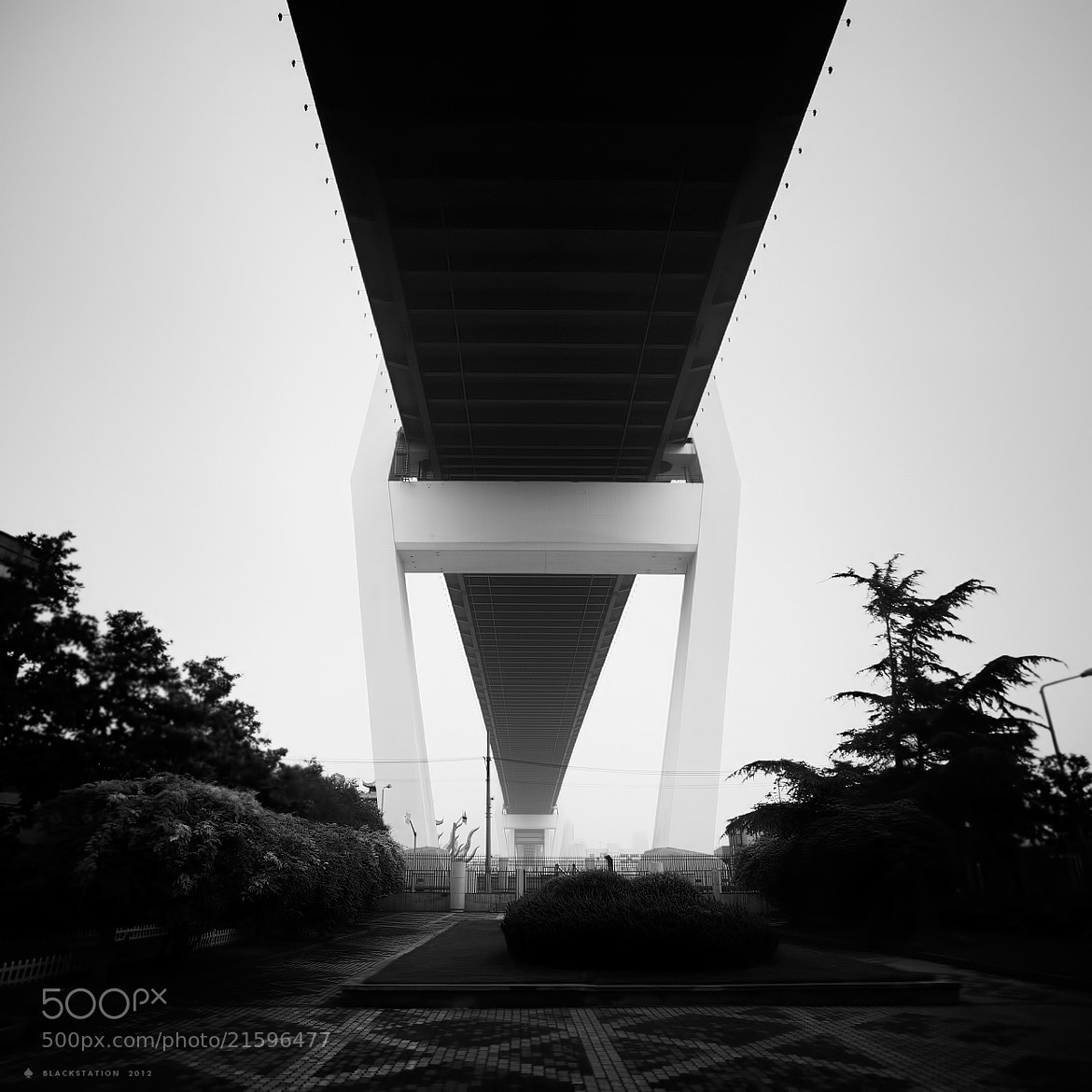 Photograph under the bridge by Black Station on 500px