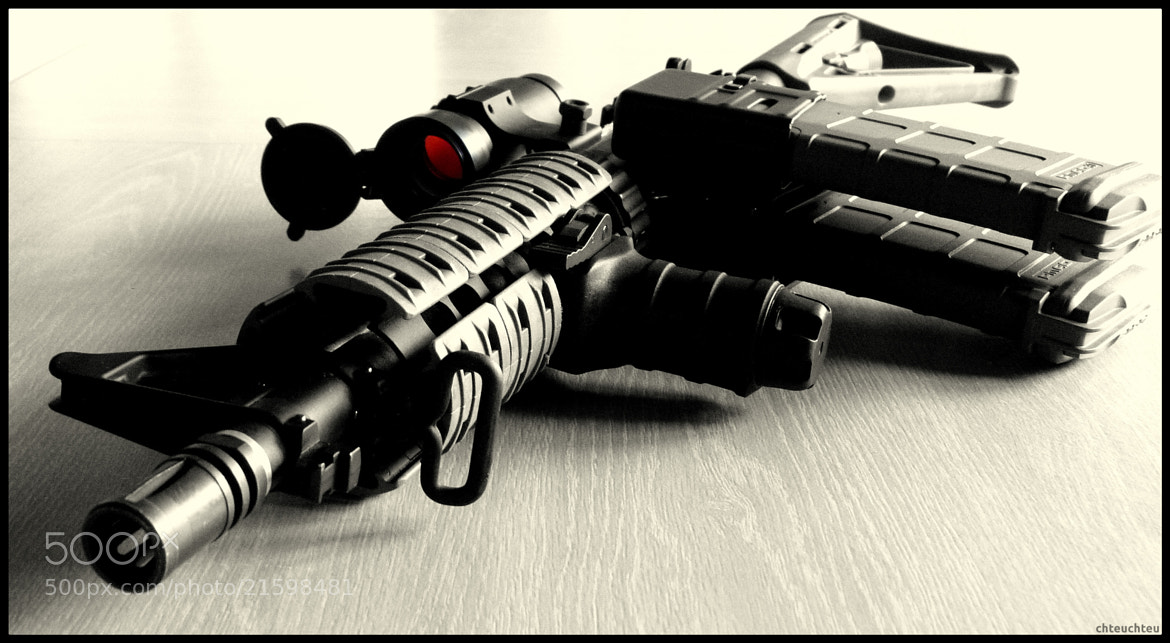 Photograph M4CQB Franck Samuel by Quentin Stoeckel on 500px