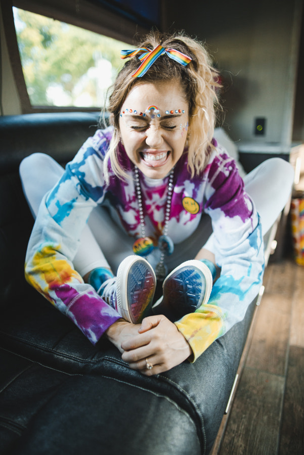 Photographed Miley for Converse (2/2) by Jerm Cohen on 500px.com