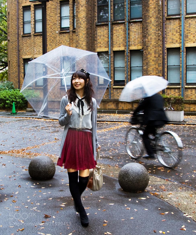 Photograph Walking in the Rain by Hiroshi Jinza on 500px
