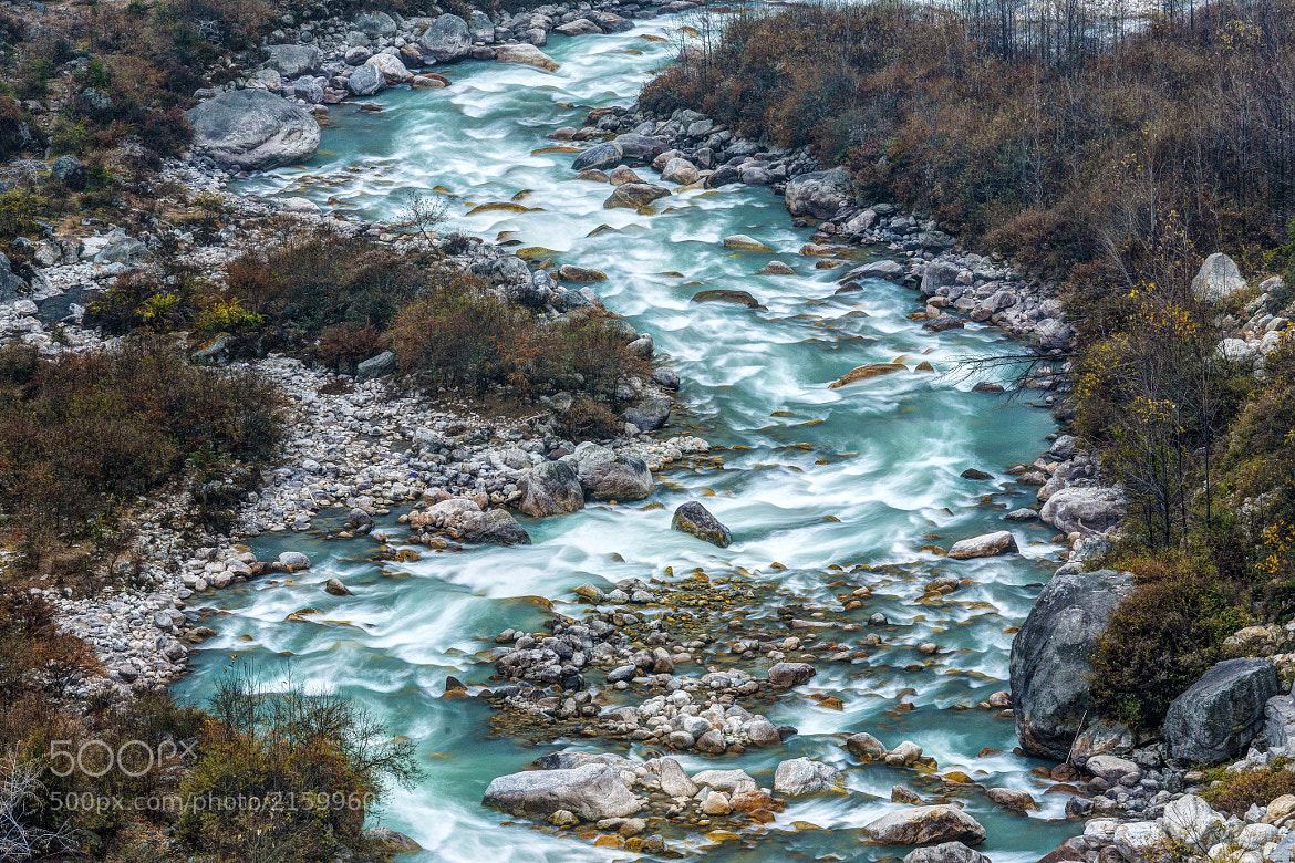 Photograph Roadside River by Chaluntorn Preeyasombat on 500px