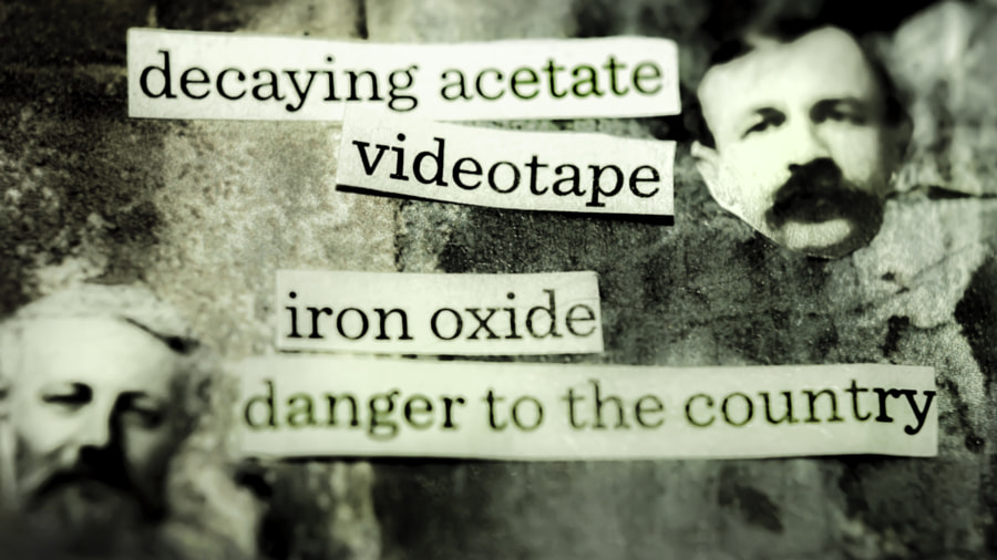 Decaying Acetate Videotape by Jeff Carter on 500px.com