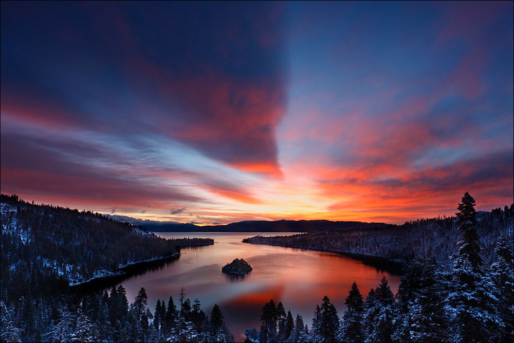 Photograph Dawn, Emerald Bay, Lake Tahoe by Don Smith on 500px