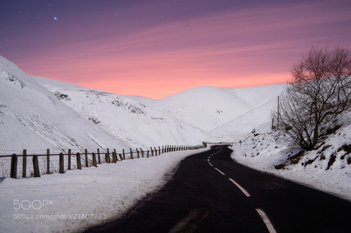 Photograph Dalveen pass in winter by Kenny Muir on 500px